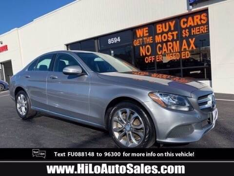 2015 Mercedes-Benz C-Class for sale at BuyFromAndy.com at Hi Lo Auto Sales in Frederick MD