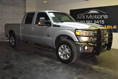 2016 Ford F-250 Super Duty for sale at ARI Motors in Houston TX