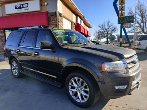 2015 Ford Expedition for sale at 719 Automotive Group in Colorado Springs CO