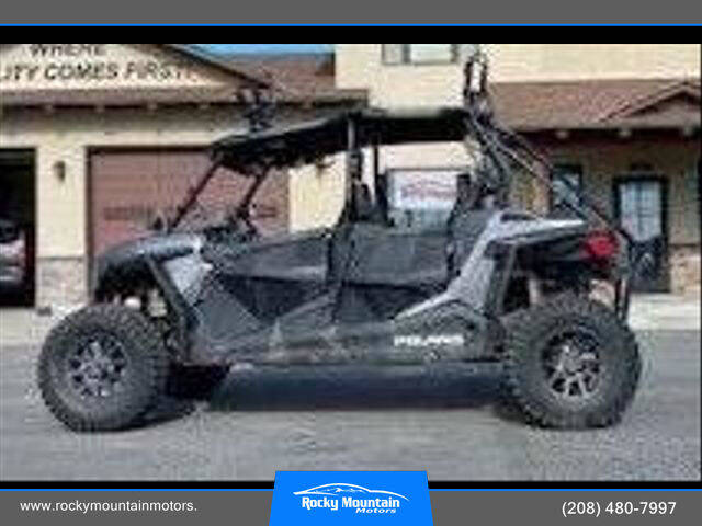 2019 Polaris RZR S4 1000 for sale at Rocky Mountain Motors in Idaho Falls ID
