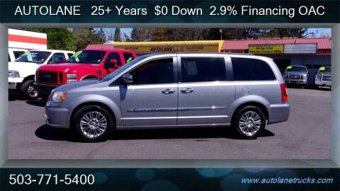 2013 Chrysler Town and Country for sale at Auto Lane in Portland OR