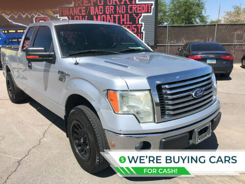 2011 Ford F-150 for sale at Rock Star Auto Sales in Las Vegas NV