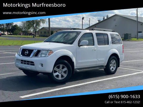 2012 Nissan Pathfinder for sale at Motorkings Murfreesboro in Murfreesboro TN