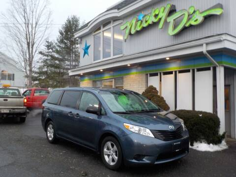 2017 Toyota Sienna for sale at Nicky D's in Easthampton MA