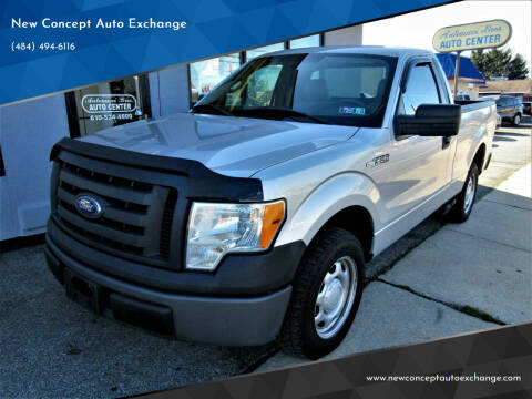 2010 Ford F-150 for sale at New Concept Auto Exchange in Glenolden PA