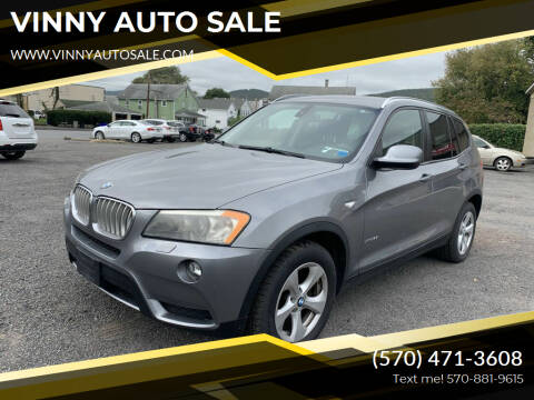 2011 BMW X3 for sale at VINNY AUTO SALE in Duryea PA