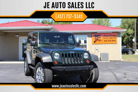2011 Jeep Wrangler for sale at JE AUTO SALES LLC in Webb City MO