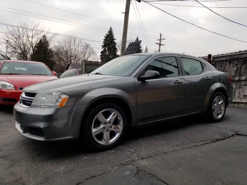 2012 Dodge Avenger for sale at DALE'S AUTO INC in Mt Clemens MI