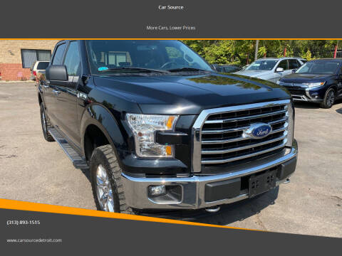 2017 Ford F-150 for sale at Car Source in Detroit MI