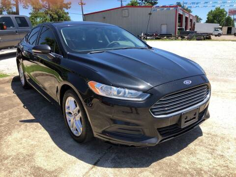 2014 Ford Fusion for sale at Lumberton Auto World LLC in Lumberton TX