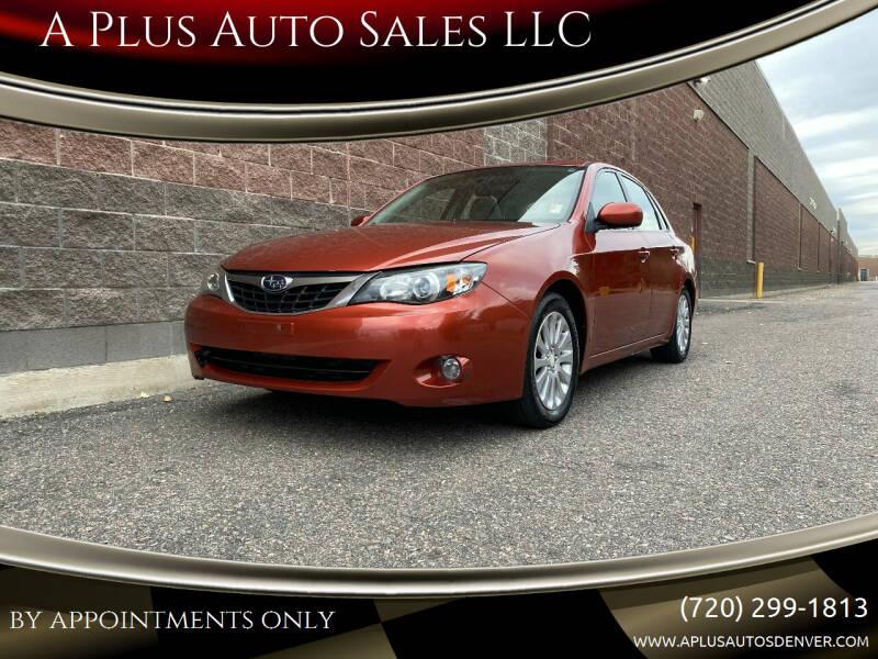 2009 Subaru Impreza for sale at A Plus Auto Sales LLC in Denver CO