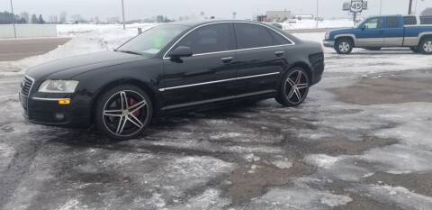 2007 Audi A8 for sale at D AND D AUTO SALES AND REPAIR in Marion WI