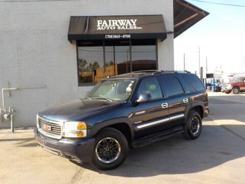 2004 GMC Yukon for sale at FAIRWAY AUTO SALES, INC. in Melrose Park IL