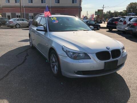 2010 BMW 5 Series for sale at M & J Auto Sales in Attleboro MA