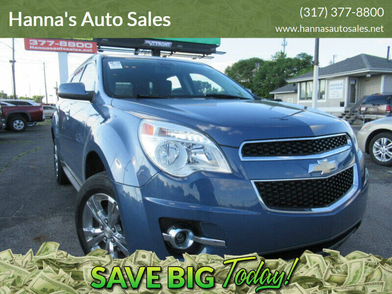 2011 Chevrolet Equinox for sale at Hanna's Auto Sales in Indianapolis IN