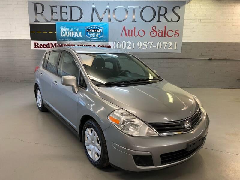 2012 Nissan Versa for sale at REED MOTORS LLC in Phoenix AZ