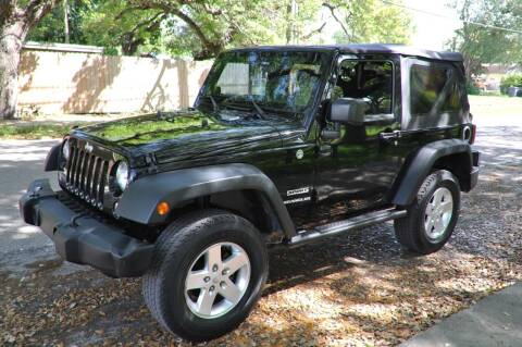 2014 Jeep Wrangler for sale at INTERNATIONAL AUTO BROKERS INC in Hollywood FL