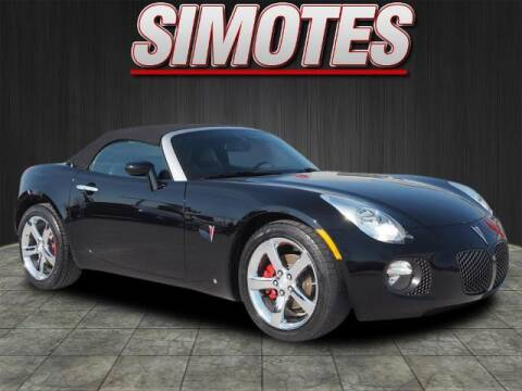 2008 Pontiac Solstice for sale at SIMOTES MOTORS in Minooka IL