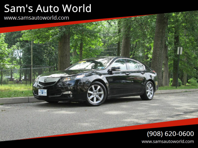2012 Acura TL for sale at Sam's Auto World in Roselle NJ