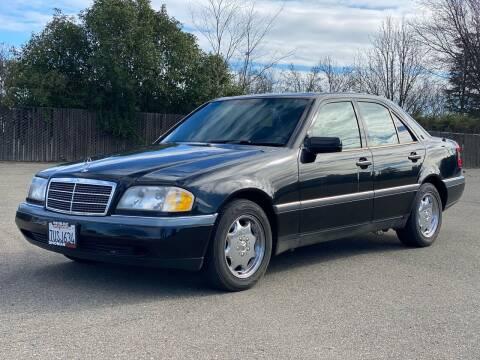 1996 Mercedes-Benz C-Class for sale at SHOMAN MOTORS in Davis CA
