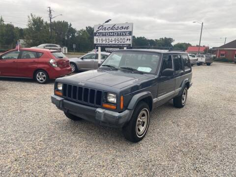 2001 Jeep Cherokee for sale at Jackson Automotive in Smithfield NC