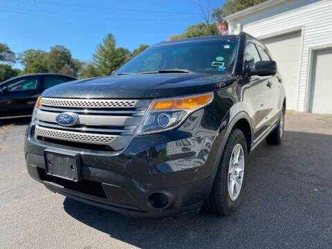 2014 Ford Explorer for sale at SOUTH SHORE AUTO GALLERY, INC. in Abington MA
