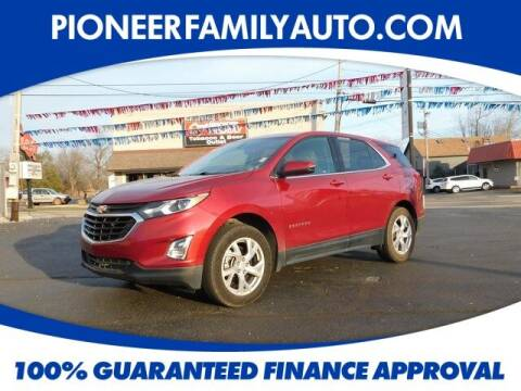 2018 Chevrolet Equinox for sale at Pioneer Family auto in Marietta OH