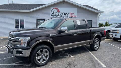 2018 Ford F-150 for sale at Action Motor Sales in Gaylord MI