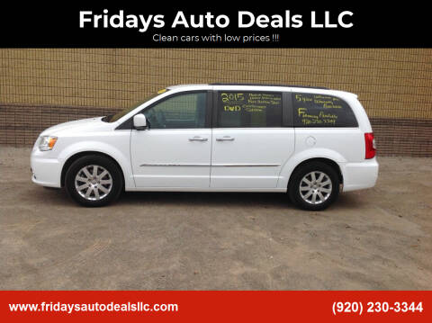 2015 Chrysler Town and Country for sale at Fridays Auto Deals LLC in Oshkosh WI