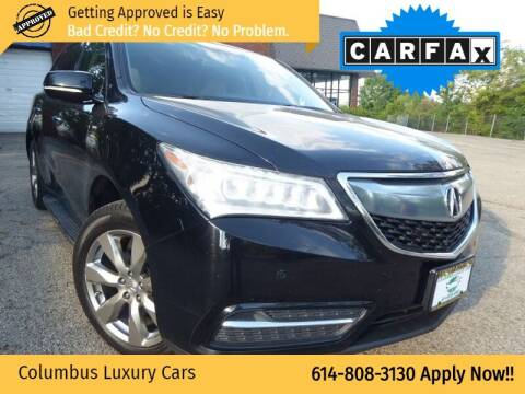 2014 Acura MDX for sale at Columbus Luxury Cars in Columbus OH