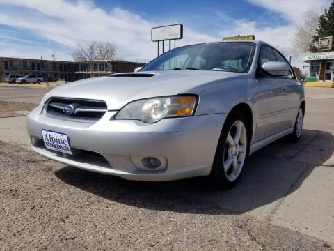 2006 Subaru Legacy for sale at Alpine Motors LLC in Laramie WY