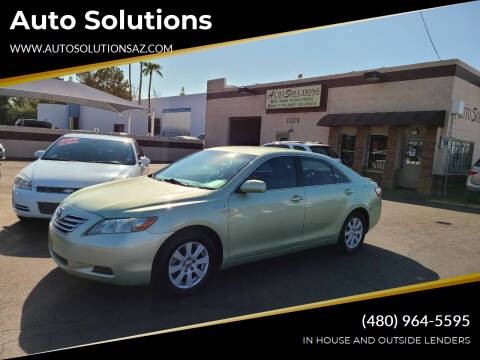 2009 Toyota Camry Hybrid for sale at Auto Solutions in Mesa AZ