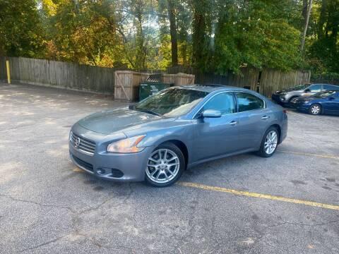 2010 Nissan Maxima for sale at BRAVA AUTO BROKERS LLC in Clarkston GA