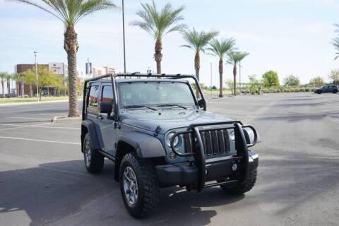 2014 Jeep Wrangler for sale at Motomaxcycles.com in Mesa AZ