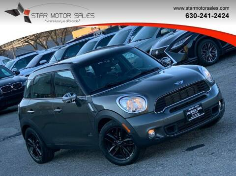 2011 MINI Cooper Countryman for sale at Star Motor Sales in Downers Grove IL