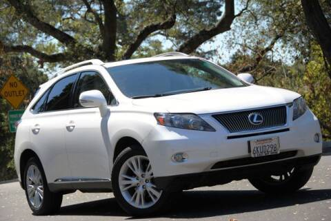 2010 Lexus RX 450h for sale at VSTAR in Walnut Creek CA