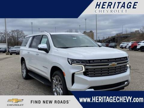 2021 Chevrolet Suburban for sale at HERITAGE CHEVROLET INC in Creek MI
