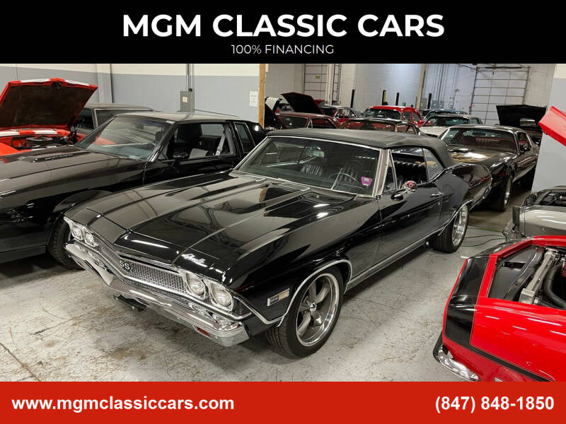 1968 Chevrolet Chevelle for sale at MGM CLASSIC CARS in Addison IL