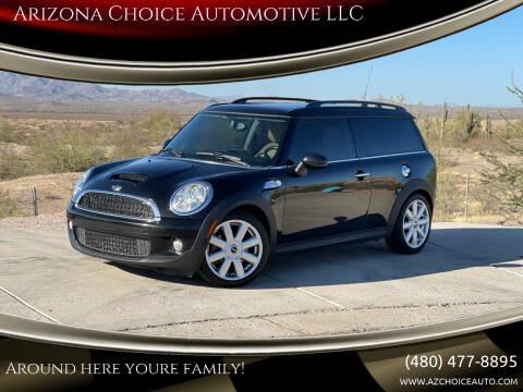 2010 MINI Cooper Clubman for sale at Arizona Choice Automotive LLC in Mesa AZ