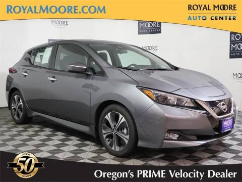 2020 Nissan LEAF for sale at Royal Moore Custom Finance in Hillsboro OR