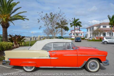 1955 Chevrolet Bel Air for sale at Top Classic Cars LLC in Fort Myers FL