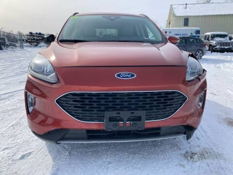 2020 Ford Escape for sale at SUNSET CURVE AUTO PARTS INC in Weyauwega WI