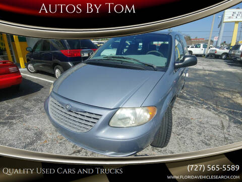 2003 Chrysler Voyager for sale at Autos by Tom in Largo FL