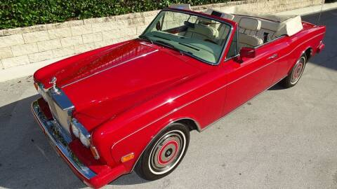 1986 Rolls-Royce Corniche for sale at Premier Luxury Cars in Oakland Park FL