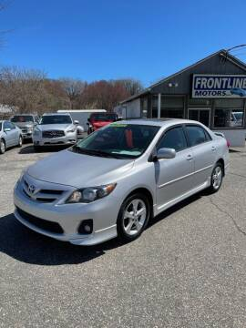 2011 Toyota Corolla for sale at Frontline Motors Inc in Chicopee MA