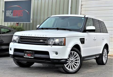 2012 Land Rover Range Rover Sport for sale at Haus of Imports in Lemont IL