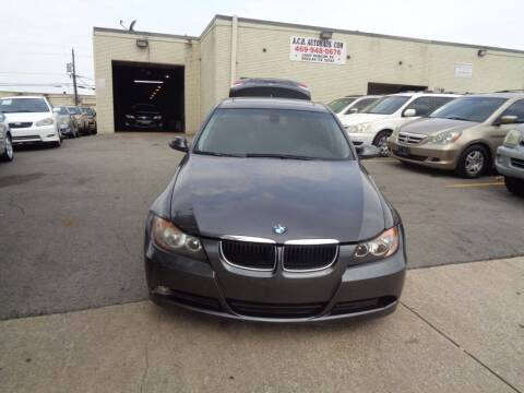 2007 BMW 3 Series for sale at ACH AutoHaus in Dallas TX