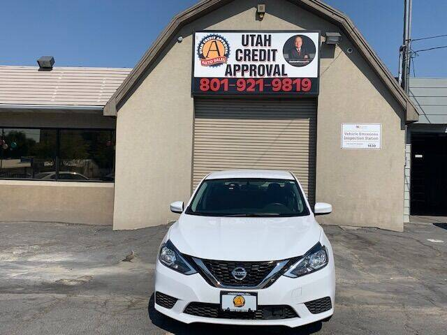 2019 Nissan Sentra for sale at Utah Credit Approval Auto Sales in Murray UT