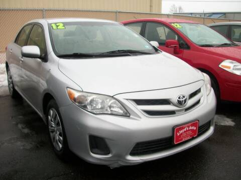 2012 Toyota Corolla for sale at Lloyds Auto Sales & SVC in Sanford ME