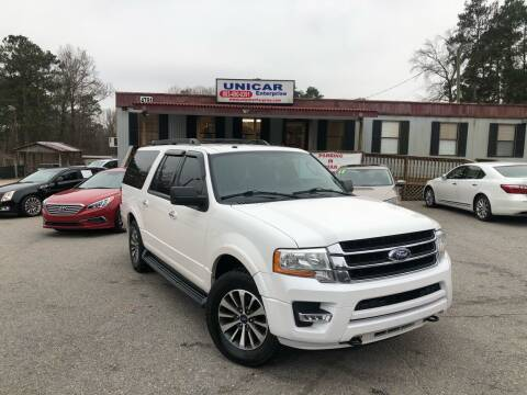 2015 Ford Expedition EL for sale at Unicar Enterprise in Lexington SC